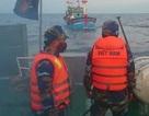 Cảnh sát biển cứu thành công tàu cá cùng 14 ngư dân