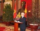 Tổng Bí thư chúc Tết lãnh đạo Đảng, Nhà nước, đồng bào và chiến sỹ cả nước