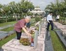 Tổng Bí thư đặt vòng hoa tại Nghĩa trang liệt sỹ Điện Biên