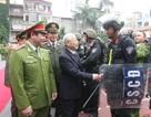 Tổng Bí thư kiểm tra công tác sẵn sàng chiến đấu của Bộ Tư lệnh Cảnh sát cơ động