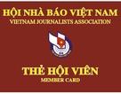 Công bố và trao thẻ hội viên Hội Nhà báo giai đoạn 2016 - 2021