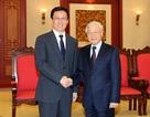 Tổng Bí thư Nguyễn Phú Trọng tiếp Đoàn Đại biểu Đảng Cộng sản Trung Quốc sang thăm Việt Nam