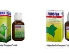 Thuốc ho Prospan® ra mắt bao bì mới phân biệt với hàng nhái và hàng xách tay không rõ nguồn gốc