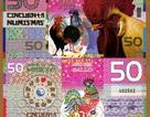 Gần nửa triệu đồng tờ 2 USD tiền con gà mừng tuổi Tết
