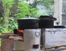 Độc đáo với bếp đốt lửa siêu tiết kiệm nhiên liệu, thân thiện với môi trường