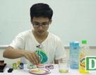 Khoa học vui: Điều gì xảy ra khi trộn sữa tươi với màu vẽ?
