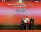 Vietcombank tiếp tục khẳng định vị thế trong Top 10 ngân hàng có uy tín năm 2016