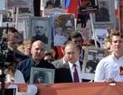 """Tổng thống Nga Putin dẫn đầu cuộc diễu hành """"Trung đoàn Bất tử"""""""