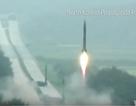 Triều Tiên công bố video phóng 3 tên lửa về phía biển Nhật Bản