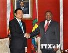Thông cáo chung về chuyến thăm Mozambique của Chủ tịch nước