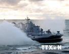 1000 hải quân Nga diễn tập chiến thuật chung bắn đạn thật