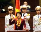 Bà Nguyễn Thị Kim Ngân thực hiện nghi lễ nhậm chức đầu tiên trong lịch sử