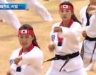 Biệt kích Hàn Quốc hừng hực khí thế trình diễn Taekwondo
