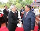 Việt - Lào nhất trí tăng cường đoàn kết ASEAN trong vấn đề Biển Đông