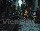 """Những """"mảnh"""" tuổi thơ trên phố đường tàu Lê Duẩn"""
