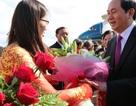 Chủ tịch nước Trần Đại Quang thăm tỉnh Champasack, Lào