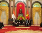 Chủ tịch nước Trần Đại Quang tiếp Bộ trưởng Bộ Quốc phòng Indonesia