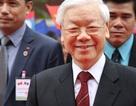 Tổng Bí thư Nguyễn Phú Trọng nói chuyện tại ĐHQG Lào