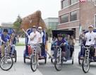 Nghề đạp xe kéo giúp phát triển du lịch bền vững tại Hàn Quốc