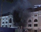 Cháy trạm phát điện Nhà hát TPHCM, quan khách tháo chạy