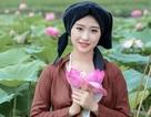 Dáng hình người phụ nữ Việt xưa trong bộ ảnh mùa sen
