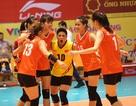 Tuyển bóng chuyền nữ Việt Nam thắng trận ra quân tại VTV Cup