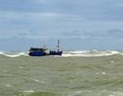 Tàu cá gãy chân vịt thả trôi trên biển, 2 ngư dân cầu cứu
