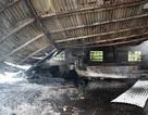 Cháy kho nông sản, 200 tấn hàng hóa bị thiêu rụi