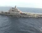 Tàu sân bay Đô đốc Kuznetsov về đến Nga sau sứ mệnh tại Syria