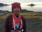 Cụ bà gốc Việt 70 tuổi chạy trên 7 lục địa trong 7 ngày