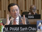"""Đại sứ Phạm Sanh Châu nói về """"nước uống Việt Nam"""" trên bàn UNESCO"""