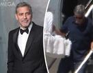 """George Clooney lần đầu… """"xách nôi"""" ở tuổi 56"""