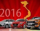 Top 10 mẫu xe bán chạy nhất Việt Nam năm 2016
