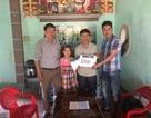 Trao hơn 131 triệu đồng tới em Phan Thị Mến