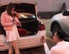 Mở cốp xe, cô gái được cầu hôn lãng mạn như phim