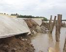 Tượng đài 1,7 tỷ chưa xây xong đã bị sạt lở