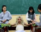 """Cười lăn lộn với MV """"Lạc trôi"""" phiên bản học sinh Nam Định"""
