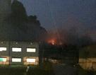 Cháy lớn ở xưởng sản xuất xe buýt Trường Hải