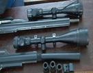 Bắt đối tượng gom phụ kiện để chế, bán súng hơi bắn đạn chì