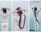 9x Sài Gòn kiếm bộn tiền nhờ quay clip khoe tóc dài gần 2m