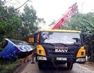 Xe khách húc đuôi xe tải cẩu, 2 người tử vong tại chỗ
