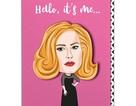 Adele vào siêu thị mua tất cả thiệp có hình mình