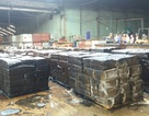 Cháy lớn tại nhà máy chế biến mủ cao su