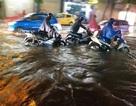 Hải Phòng mưa lớn, đường phố thành sông