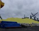 Hơn 3 vạn tấn lưu huỳnh lộ thiên ở Hải Phòng có nguy hại với môi trường?