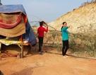 Dân dựng lều, lập rào chắn phản đối đơn vị thi công nổ mìn phá đá