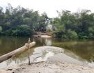 """Dân hiến đất làm cầu, mong không còn cảnh """"liêu xiêu"""" qua sông"""