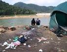 Dân mạng bất bình vì phượt thủ xả rác ngập quanh hồ Hàm Lợn