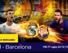Ngóng đợi đại chiến Man City-MU và Real-Barca những ngày cuối năm