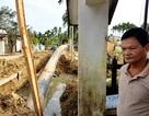 Dân phản đối đào đường đặt ống nước, chính quyền lúng túng